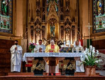 Hálaadó szentmise