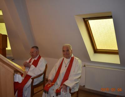 Herpy György és Török Antal atyák