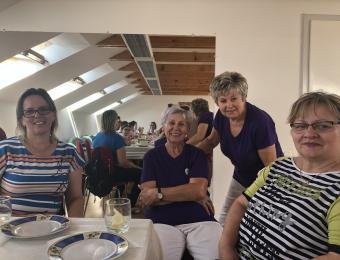 Kedves fogadtatás a Tihanyi Levendula Klubban
