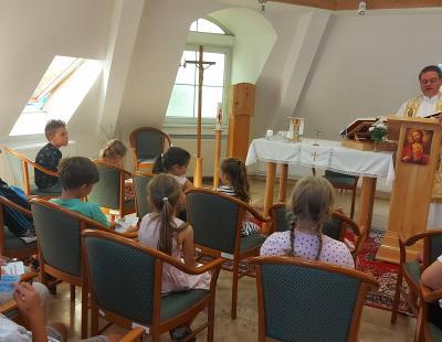 Tábor nyitó szentmise