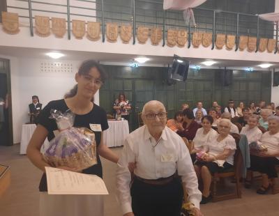 Az első díj öröme