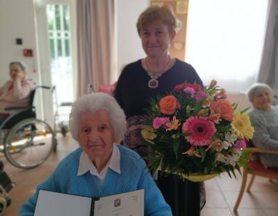Árpási Erzsi néni 95 éves