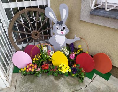 Húsvéti dekorációnk