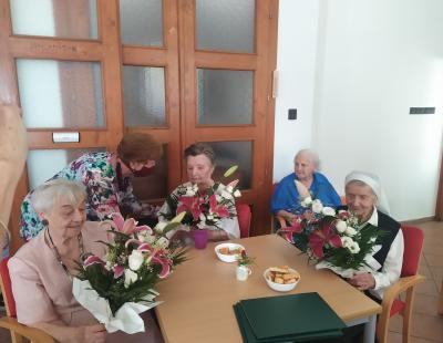 Felső Judit néni köszöntése 95 éves