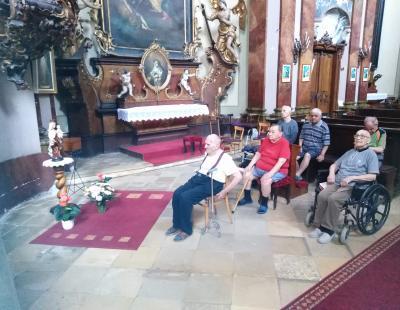 Kármelhegyi Boldogasszony ünnepe a templomban