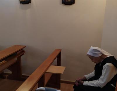 Júlia nővér, az alapító rend egyetlen egy magyarországi tagja